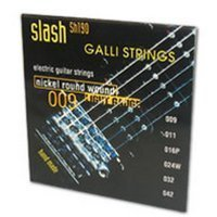 Струны для электрогитары GALLI Slash SH190 Extra Light