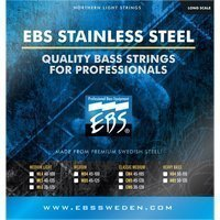 Струны для бас-гитары EBS SS-MD Stainless Steel Strings Medium 4-strings