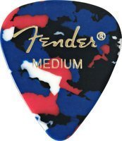 Медиатор Fender 351 Classic Celluloid Confetty Medium (980351350)
