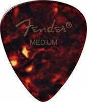 Медиатор Fender 451 JR Shape 1/2 GR Shell Medium (980451300)
