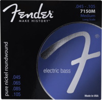 Струны для бас-гитары Fender Original 7150 Pure Nickel Roundwound (073-7150-402)