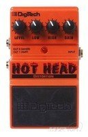 Педаль гитарная дисторшн DIGITECH HOT HEAD (DHHV)
