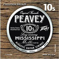 Струны для акустической гитары PEAVEY Acoustic Phosphor Bronze Mississippi String Sets 10's (578460)