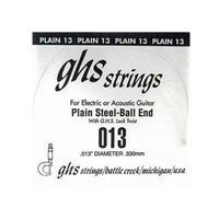 Струна для гитары GHS STRINGS 013 SINGLE PLAIN BALLEND (13)