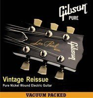 Струны для электрогитары GIBSON VINTAGE RE-ISSUE PURE NICKEL WOUND .009-.042 (SEG-VR9)