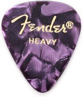 Набор медиаторов Fender 351 Premium Celluloid Purple Moto Heavy (098-0351-976)