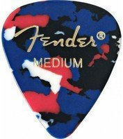 Медиаторы Fender 351 Confetti Medium 12 шт (098-0351-850)