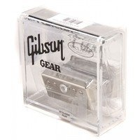 Звукосниматель в формате хамбакера GIBSON 57 CLASSIC PLUS ALNICO II HUMBUCKER NICKEL COVER (IM57P-NH