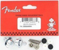 Замки для ремня Fender Security Strap Locks And Buttons (099-0690-000)