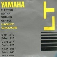 Струны Yamaha GSA50L ELECTRIC LIGHT 10-46
