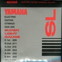 Струны Yamaha GSA50S ELECTRIC SUPER LIGHT 09-42