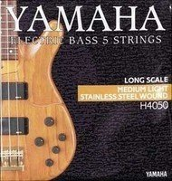 Струны Yamaha H4050 STAINLESS STEEL MEDIUM LIGHT 5 STRING 45-126