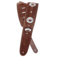 Ремень гитарный Planet WAVES PW25SSC01 Conchos Guitar Strap, Brown