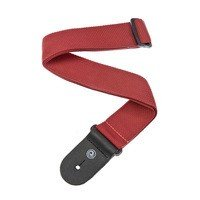 Ремень гитарный Planet WAVES PWS101 Polypropylene Guitar Strap, Red