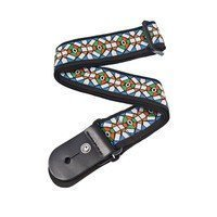 Ремень гитарный Planet WAVES PW50E02 Woven Guitar Strap, Stained Glass