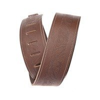 Ремень гитарный Planet WAVES PW25WSTE01 Western Eagle Embossed Leather Guitar Strap, Brown