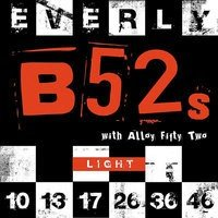 Струны Everly 9210 B52s ELECTRIC LIGHT 10-46