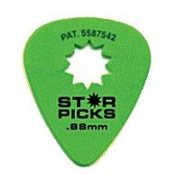 Медиаторы Everly STAR PICK 12-PACK 0.88