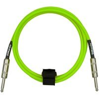 Кабель гитарный Dimarzio EP1710SS INSTRUMENT CABLE 10ft NEON GREEN