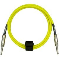Кабель гитарный Dimarzio EP1710SS INSTRUMENT CABLE 10ft NEON YELLOW